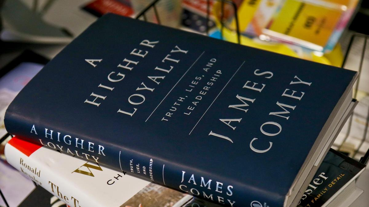 What the cover of James Comey's book says about the author